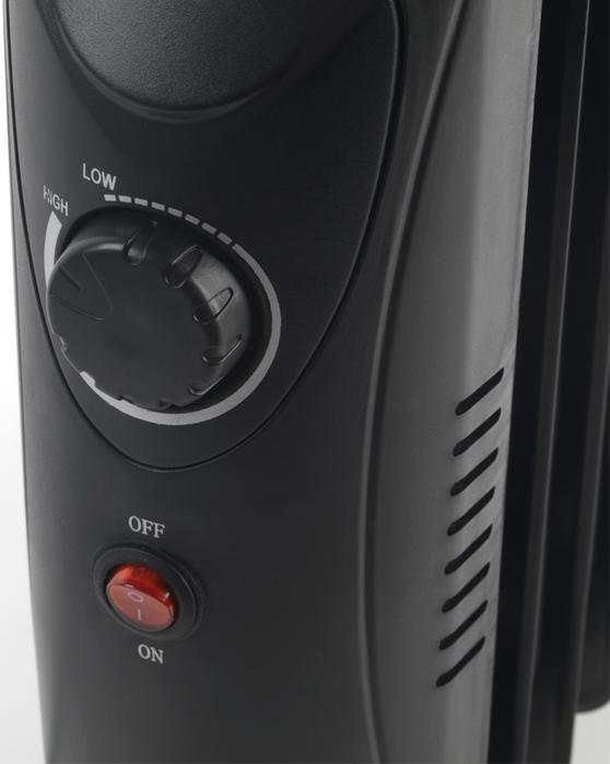 Beldray 700W Mini Oil Filled Radiator Thumbnail 5