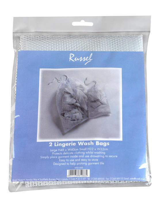 2 Laundry/Lingerie Wash Bags