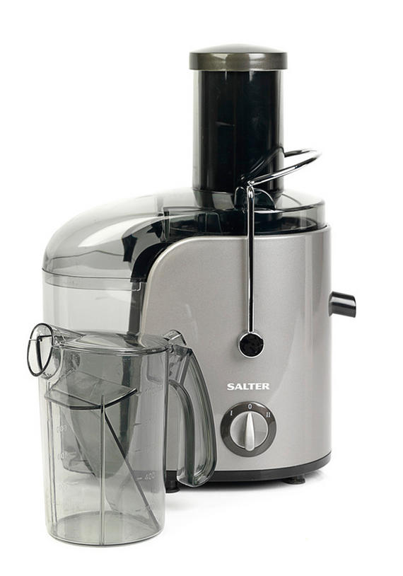 Salter EK1662 Whole Fruit Juicer, 800 W, Silver