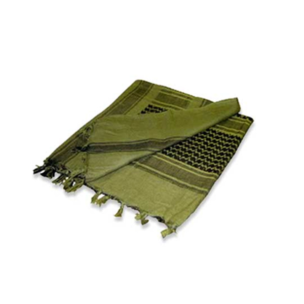 Web tex military style shemagh scarf in olive accessories no1brands4you for Does olive garden give military discount