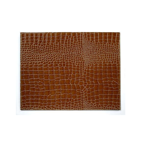 Mock Crocodile Faux Leather Placemat X 1 Placemats