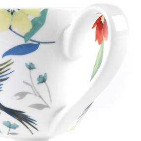 Portobello CM03581 Footed Hummingbird Fine Bone China Mug Thumbnail 4