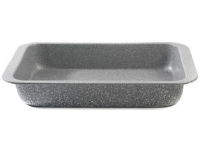 Salter BW02774G Marble Collection Carbon Steel Roasting Pan, 36 cm, Grey Thumbnail 2