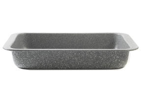 Salter BW02774G Marble Collection Carbon Steel Roasting Pan, 36 cm, Grey Thumbnail 3
