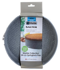 Salter Everest Grey Marble 28cm Spring Form Cake Tin Thumbnail 3