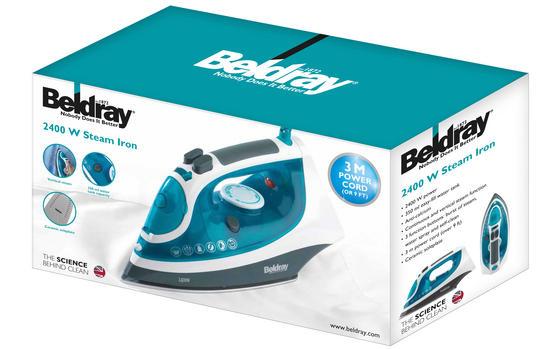 Beldray 2400W Flite Steam Iron Thumbnail 5