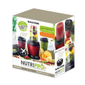 Salter EK2002 Nutri Pro Super Charged Multi-Purpose Nutrient Extractor Blender, 1 Litre, 1000 W, Red Thumbnail 4