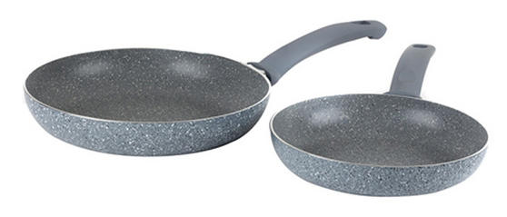 Russell Hobbs BW03714DB Stone Collection Frying Pans, 20/24 cm, Daybreak