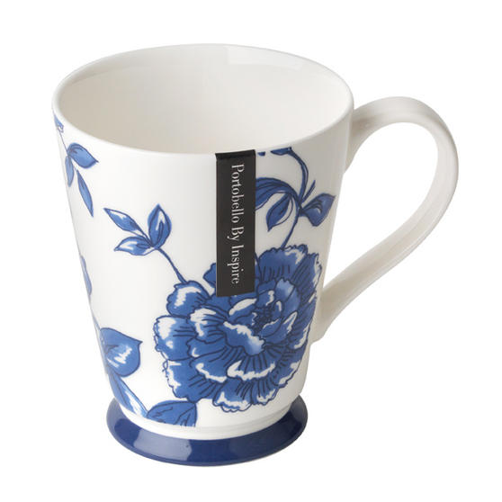 Portobello Buckingham Perla Bone China Mug