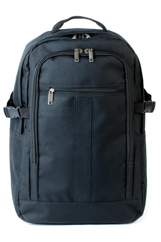 Constellation Rome Flight Backpack, Black
