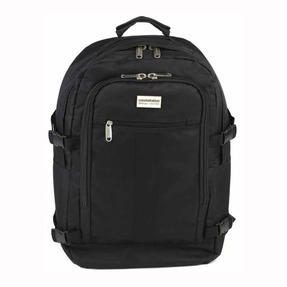 Constellation Rome Flight Backpack With Adjustable Shoulder Straps, Black	 Thumbnail 1