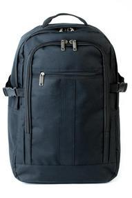 Constellation LG00403BLKSAMIL Rome Flight Backpack, Black