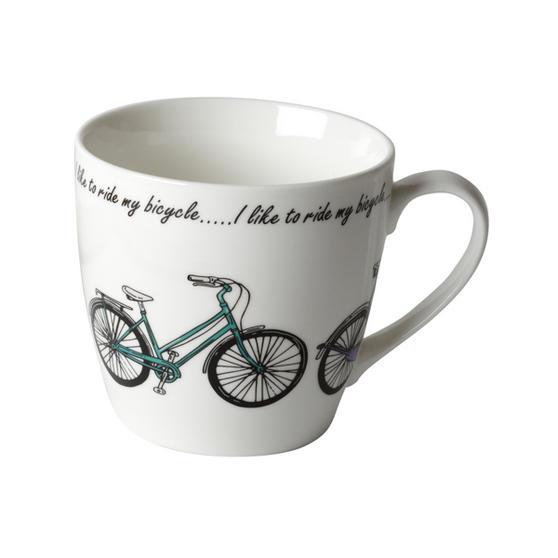 Cambridge CM04337 Harrogate Bikes Fine China Mug