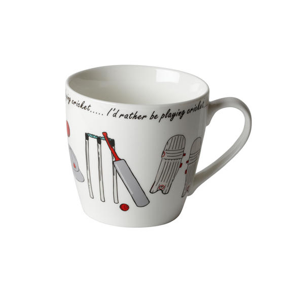 Cambridge CM04338 Harrogate Cricket Fine China Mug