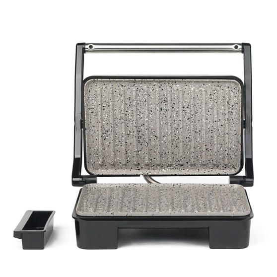Salter Marble Collection Health Grill and Panini Maker, Grey