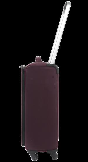 "ZFrame Super Lightweight Suitcase, 22"", Aubergine Thumbnail 2"