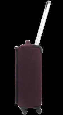 """ZFrame Super Lightweight Suitcase, 22"""", Aubergine"""