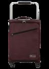 """ZFrame SH22283722AUB Super Lightweight Suitcase, 22"""", 10 Year Warranty, Aubergine"""