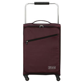 "ZFrame SH22283722AUB Super Lightweight Suitcase, 22"", 10 Year Warranty, Aubergine"