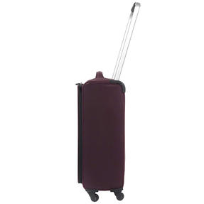 "ZFrame SH22283722AUB Super Lightweight Suitcase, 22"", 10 Year Warranty, Aubergine Thumbnail 2"