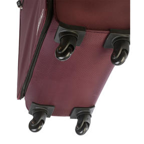 "ZFrame SH22283722AUB Super Lightweight Suitcase, 22"", 10 Year Warranty, Aubergine Thumbnail 3"