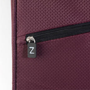 "ZFrame SH22283722AUB Super Lightweight Suitcase, 22"", 10 Year Warranty, Aubergine Thumbnail 4"