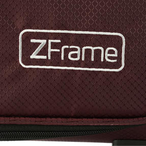 "ZFrame SH22283722AUB Super Lightweight Suitcase, 22"", 10 Year Warranty, Aubergine Thumbnail 5"