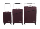 "ZFrame SH22283722AUB Super Lightweight Suitcase, 22"", 10 Year Warranty, Aubergine Thumbnail 3"