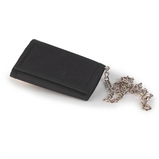 Mil-Com Black Wallet On A Chain