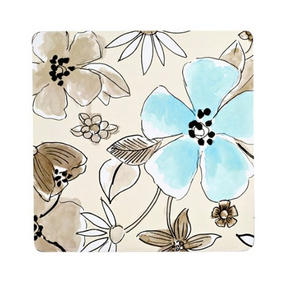 Inspire BCH249234 Luxury Flower Garden Coasters, 10.5 x 10.5cm, Hardboard, Neutral, Set of 4