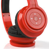 Intempo Red Bluetooth Headphones Thumbnail 2