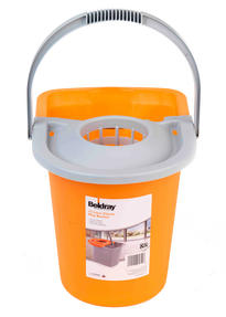 Beldray LA027818BMMIL Orange 15 Litre Mop Bucket
