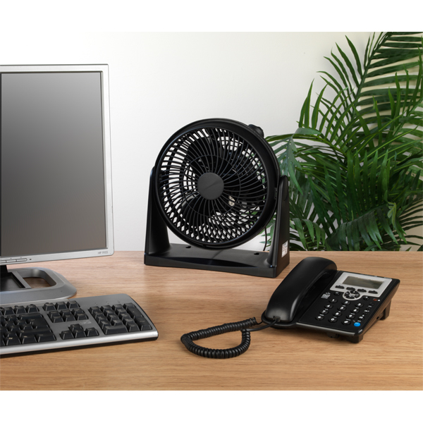 Beldray 8 Inch Black Turbo Fan