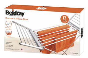 Beldray EH1156 Electric Foldable Clothes Airer with Wings Thumbnail 5