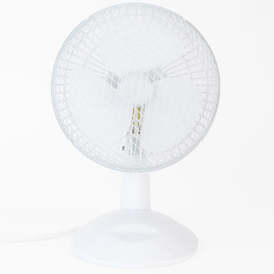 Beldray 6 Inch White Desk Fan