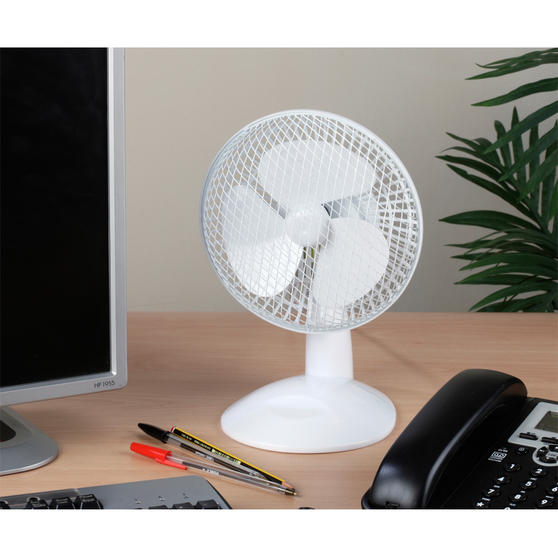 Beldray 6 Inch White Desk Fan Thumbnail 4
