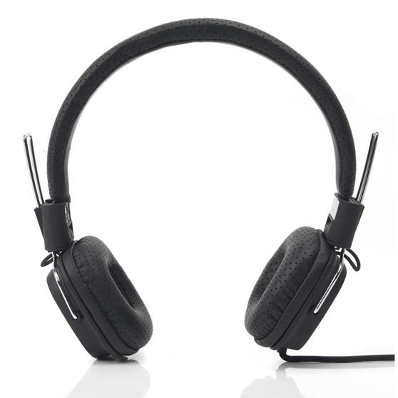 Intempo Black Qube Headphones