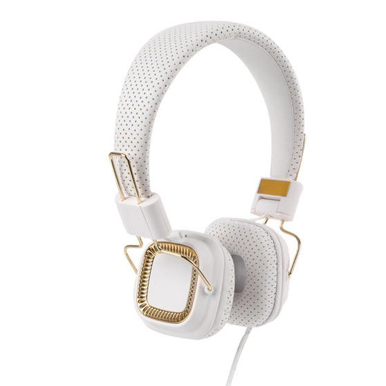 Intempo White Qube Headphones