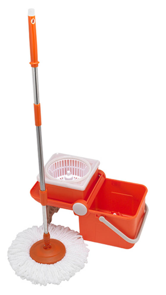 Beldray 360° Spin Mop with Foldable Bucket