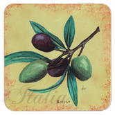 Indulje Luxury Olive Oil Placemat and Coaster Set, Cork, Set of 4 Thumbnail 1