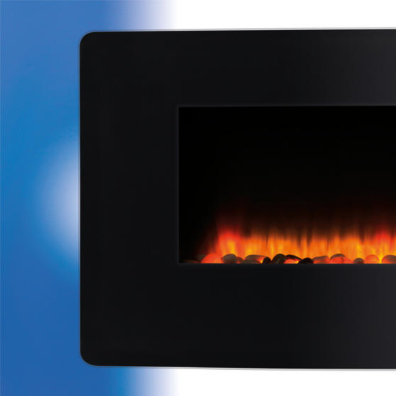 Beldray Porto LED Electric Wall Fire Thumbnail 2