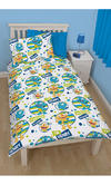 Disney Henry Hugglemonster Roarsome Single Reversible Rotary Duvet Cover Bed Set New Gift Thumbnail 2