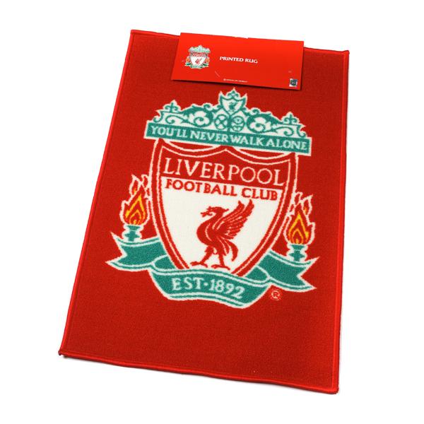 Liverpool Fc Football Rug 50cm X 80cm Home Furnishings