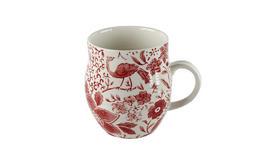 Portobello Anglesey Paradise Red Stoneware Mug Thumbnail 1