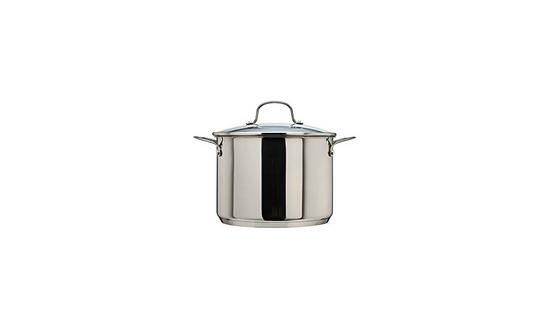 Thomas Cook & Pour 24 cm 7.5 L Stock Pot with Glass Lid