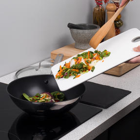 Thomas Cook & Pour 28 cm Non-stick Stir-fry Pan with Glass Lid Thumbnail 9