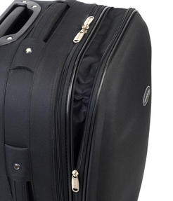"Constellation Plain Eva Suitcase, 22"", Black Thumbnail 3"