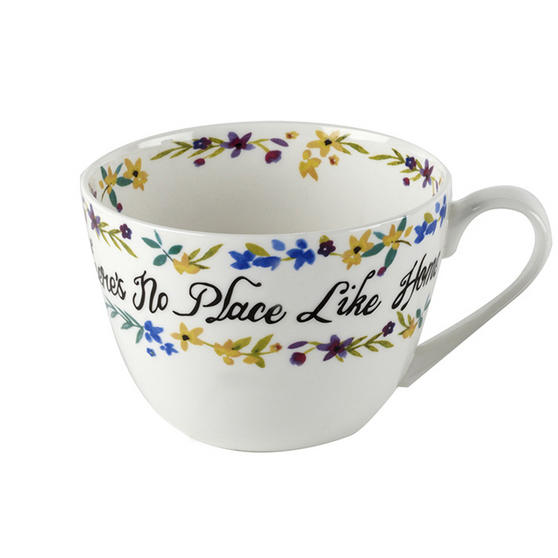Portobello Wilmslow No Place Like Home Bone China Mug