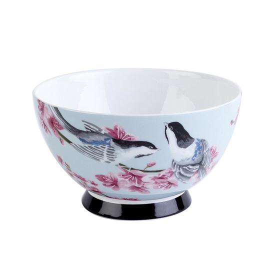 Portobello CM04469 Footed Kazumi Bone China Bowl