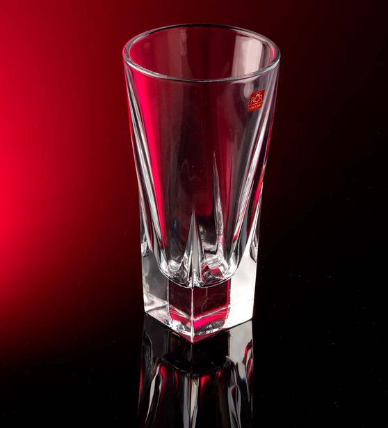 RCR 23920020106 Fusion Crystal Glass Vase, 26 cm
